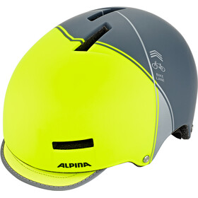Alpina Grunerlokka Casque, be visble-charcoal